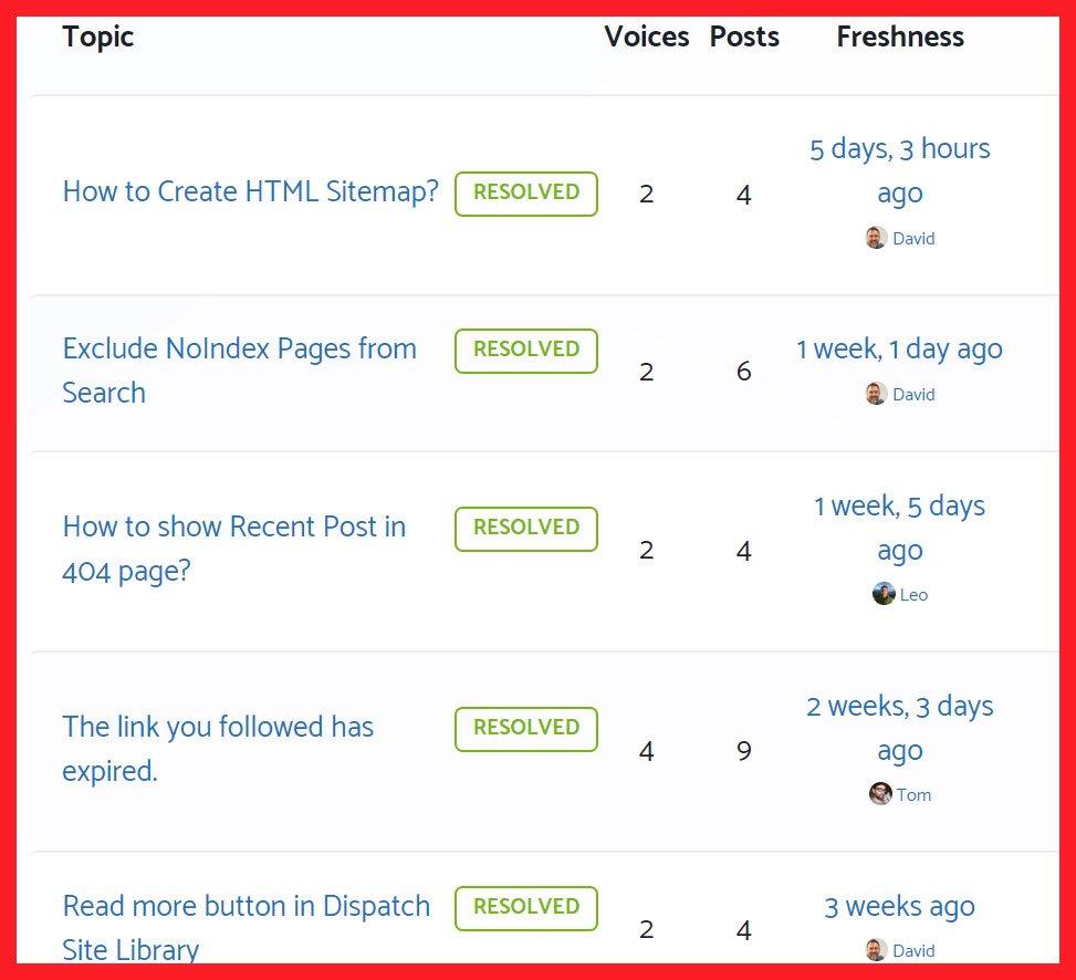 Support on GeneratePress Forum